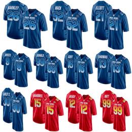 935ea3e30 Pro bowl jerseys online shopping - Men s Saquon Barkley Patrick Mahomes  Mack Elliott Brees Donald