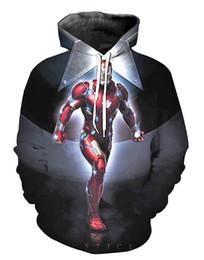 $enCountryForm.capitalKeyWord Australia - Marvel The Avengers Hoodie Endgame Quantum Realm Cosplay Hoodies Costume Sweater Men Hooded Sweatshirt Black Panther Superman Jumper Mens