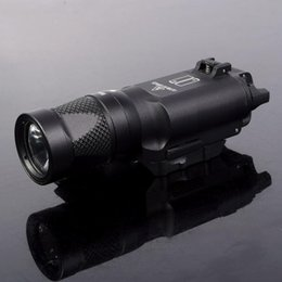 Wholesale Trijicon Tactical X300V LED Lumens Airsoft Flashlight with Pistol Strobe Gun Light for Picatinny Rail