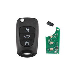 $enCountryForm.capitalKeyWord Australia - 3Buttons 433mhz Folding Remote Key Fob for Kia Rio Ceed Cee'd CeedPro Picanto Sportage 2004-2011 chip ID46 TOY40 Blade