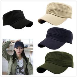 6ebac541 Caps Cadet online shopping - Unisex Summer Classic Army Plain Vintage Cadet  Military Sports Flat Cap