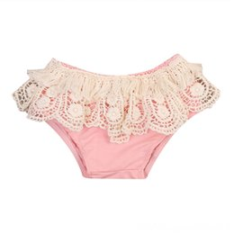 ruffled diaper covers wholesale NZ - 2017 Baby Girl Tassels Ruffle Shorts Pants 2017 new arrival fashion Bloomers Pants Baby & Kids Clothing Diaper Cover Clothes Outfit Sets Age