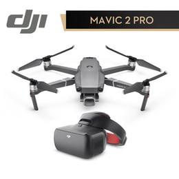 Em Estoque DJI Mavic Pro 2 Zoom Zangão Zangão Da Câmera Zoom 48MP 2X Hyperlapse Óptico RC Helicóptero FPV Quadcopter Original em Promoção
