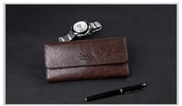 $enCountryForm.capitalKeyWord Australia - 2017 Male Genuine Leather luxury wallet Casual Short designer Card holder pocket Fashion Purse wallets for men free shipping