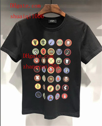 $enCountryForm.capitalKeyWord Australia - 2019 mens clothes fashion classic mens stripe printing t shirt Simple style cotton t-shirt casual polo shirt male tracksuit ds-5
