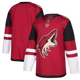 ab438e0d1 Blank Jersey Shirts UK - 2019 Cheap Hockey Jerseys Arizona Coyotes Darcy  Kuemper Custom USA Ice
