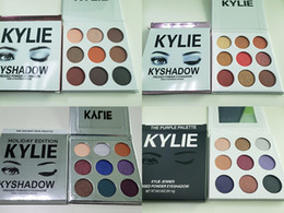CosmetiC water online shopping - IN STOCK Kyshadow Kit Kylie Pressed Powder Eyeshadow Palette Kylie Cosmetics the Bronze Palette Waterproof Eyeshadow colors set new