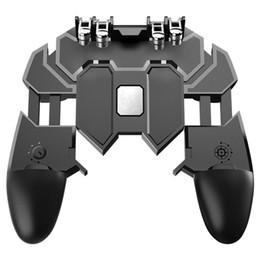 AK66 Six-Finger Универсальный игровой контроллер. Клавиша «Fire Fire» для мобильной игры PUBG. Еда куриных артефактов. Игровая ручка.