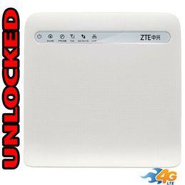 RouteR lan online shopping - Wi Fi Router GSM G LTE UNLOCKED ZTE MF253 LTE USA Latin Caribbean LAN RJ11