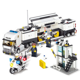 $enCountryForm.capitalKeyWord Australia - Kids Birthday Gift!!!!Police Command Model Building Block Kits 511pcs set DIY Educational Puzzle Construction Bricks Toys NO BOX Y190530