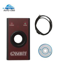 Porsche Programmer Reader Canada - 2017 Gambit programmer CAR KEY MASTER II Auto Transponder Key Programmer gambit RFID Tool DHL free shipping
