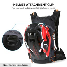 riding water bag NZ - Foldable Bicycle Bag Cycling Bag Backpack Lightweight Outdoor Sports Bike Riding Hydration Pack Backpack with 2L Water Bladder