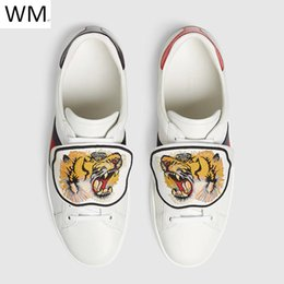 $enCountryForm.capitalKeyWord Canada - Duping520 Bee Tiger Snake Embroidery Lady Boy Girl Shoes White Shoes Sneakers Dress Shoes Skate Dance Ballerina Flats Loafers Espadrilles