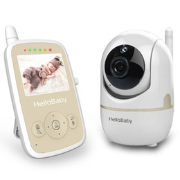 baby camera system 2019 - Hellobaby 2.4 inch Video Baby Monitor HB248 with Remote Camera Pan-Tilt-Zoom,Temperature Monitoring,Two Way back system