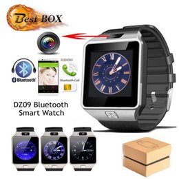 ups trackers NZ - DZ09 Smart Watch GT08 Wristband Android Smart SIM Intelligent Smartwatches Can Record The Sleep State 20pcs Up With Retail Package DHL