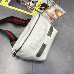 Großhandel Mens Designer Gürteltasche Unisex Handtaschen mit Tiger gedruckt Fannypack Deisgner Brusttasche für Frauen Classic Fashion