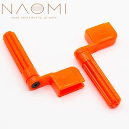 guitar winder Australia - NAOMI 2PCS Guitar String Winder Peg Winder Acoustic Electric Guitar String Winder-OR For Acoustic Electric Guitars Accessories
