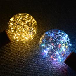 Rgb Light Bulb String Australia - RGB LED Night Light Filament lamp Retro Edison Fairy LED light String Bulb G95 E27 110V 220V For Indoor Christmas Holiday