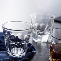 Wholesale Beer Mugs Glasses Australia - Creative Crystal Beer Glasses Mug Cup Shot Whisky Cup Wine Glass Juice Water Bar Home Office Party KTV Cheers Mug Drinkware