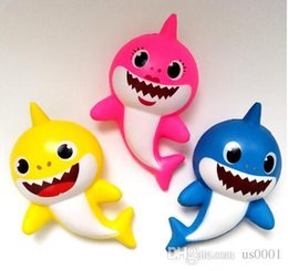 $enCountryForm.capitalKeyWord Australia - 3 Color Squishy PU Baby shark Slow rebound toys New squishy Simulation Funny Gadget Vent Decompression toy