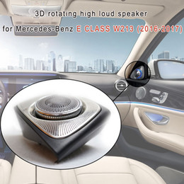 Chinese Speakers NZ - Car Audio system 3D rotating treble Speaker 3D rotating high loud speaker for Mercedes-Benz E CLASS W213 (2016-2017)
