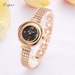 Luxury Women Wrist Watch Australia - LVPAI Women Fashion Watches Elegant Lady Stainless Steel Bracelet Wrist Watch Clock Luxury Rhinestone Quartz Watch Relogio Z20