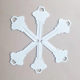 locks keys wholesalers NZ - Unique sublimatable SC1 house key blank for door lock ready for heat press printing with personalized images or texts