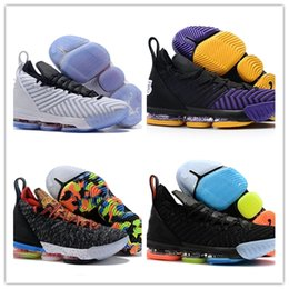 sale retailer 9f978 f3ab5 2019 THRU LMTD Starting Oreo FRESH BRED What the XVI 16 james Multicolor Basketball  Shoes LeBRon 16s Wolf Grey Sports Designer sneaker