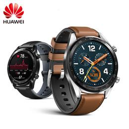Huawei Smart Watches NZ - HUAWEI WATCH GT Smart Sport Watch 1.39 inch Heartrate Report GPS Swim Jogging Cycling Sleep Monitor AMOLED Colorful Screen