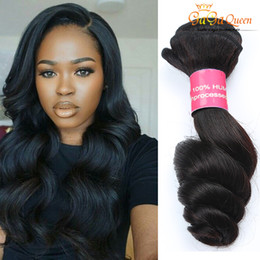 Product Bundle Pricing Australia - Unprocessed Malaysian Virgin Hair Loose Wave Hair Bundles 4pcs Queen Hair Products Factory Price Malaysian Human Softest Tangle Free