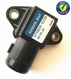 manifold sensor NZ - 1pc Japan Original Map Sensors 079800-4250 37830-PAA-S00 Manifold Absolute Pressure Sensors for Honda Isuzu