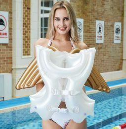 $enCountryForm.capitalKeyWord Australia - hot angel wings swim floats tubes pvc kids lift vest buoy children water sports lif jacket vests infant Drifting Swimsuit swimwear