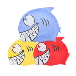 $enCountryForm.capitalKeyWord Australia - 2019 new children's swimming cap cartoon fish waterproof silicone swimming cap cute children pool protection ear hair