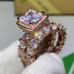 White Topaz Rose Gold Ring Australia | New Featured White