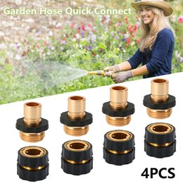 $enCountryForm.capitalKeyWord Australia - Wholesale Garden Water Hose Tap Quick Connect Set Pressure Washer Brass Connectors