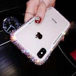 Творческий роскошный модный алмазный чехол для мобильного телефона для iphone 7 8 x xr xs max Богиня стиль блеск чехол для телефона на Распродаже