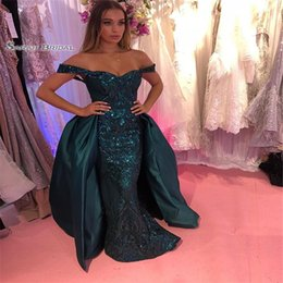 $enCountryForm.capitalKeyWord NZ - Overskirt Beads Prom Dresses Vestidos De Festa Evening Wear In Stock Hot Sales High-end Occasion Dress