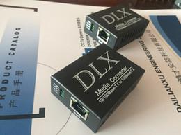 Бесплатная доставка по DHL Super Mini 10 / 100M fast Ethernet Оптоволоконный медиаконвертер IP-камера для оптоволоконного преобразователя WDM bi-direction 5VDC 20KM на Распродаже