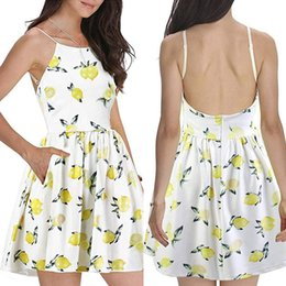 Teddies Dresses Australia - Infinity Robe Longue Femme Fashion Women Spaghetti Strap Beach Style Skater Dress S-2XL Dolls Dress Women Teddy Lenceria Sexy