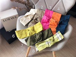 Headbands Bow Australia - The new fashionable 2019 women's cotton and linen bow headbands and women's casual headscarves are free of shipping