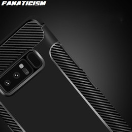 $enCountryForm.capitalKeyWord Australia - Fanaticism Carbon Fiber Soft TPU Silicone Phone Cases For Samsung S10 S9 S8 Plus Note 9 iphone XR XS Max Shockproof Back Cover
