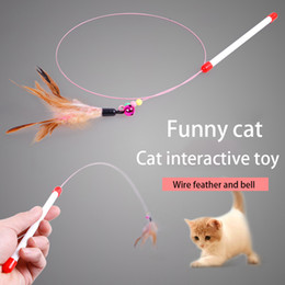 $enCountryForm.capitalKeyWord Australia - Wholesale Cat Teaser Funny Pet Supplies Cat Toy for Pet Store Soft Kitten Toy Purr Purr