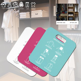 sanitary belts Australia - Household Cloth Folding Board Child Adult Clothes Folder Closet Organizer Clothing Folders Board Organizer Laundry Storage