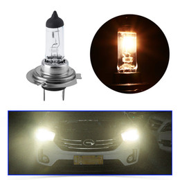 Parking Light Bulbs Halogen Australia - 2 pcs H7 Super Bright White Fog Halogen Bulb 55 w Car Head Light Lamp 55 w Car Parking light source