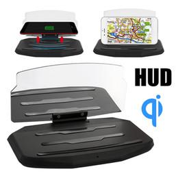 $enCountryForm.capitalKeyWord Australia - Car GPS Holder DC 5V High Performance Phone HUD Stand Head-Up Display Projection Bracket Multi-Functional Wireless Charger
