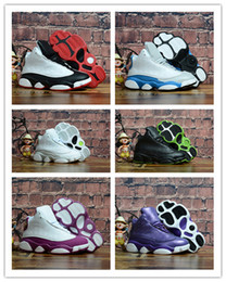 Kids Birthday Pack Australia - Boys Girls 13 Kids Basketball Shoes Childrens 13s Pack Playoff Sports Shoes Toddlers Birthday Gift Youth Kids Sports 28-35