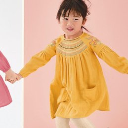 $enCountryForm.capitalKeyWord Australia - Princess boutique dress costume for baby Full sleeve blouse 2019fashion t-shirt kids tops dresses for girls pattern toddler costume Mix SIZE