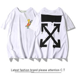 64ca6781 Off white shirts online shopping - OFF tshirt WHITE Simpson peace man peace  sign printed tee