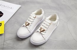 $enCountryForm.capitalKeyWord Australia - 2019 fashion trend spring and summer round head lace snake shoes with casual plain white shoes