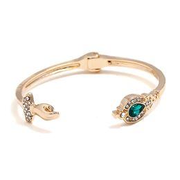 Man Made Diamonds Australia - luxury beautiful hand blue artificial diamond Bracelet pendant Handwear For Women Brand girlfriend boyfriend gift crafts dinner accessories
